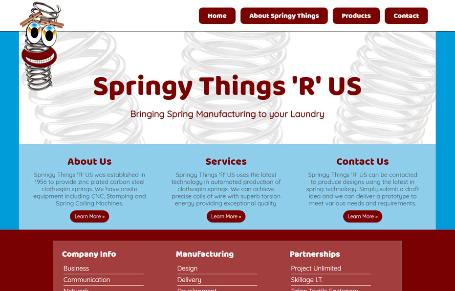 Springy Things 'R' US